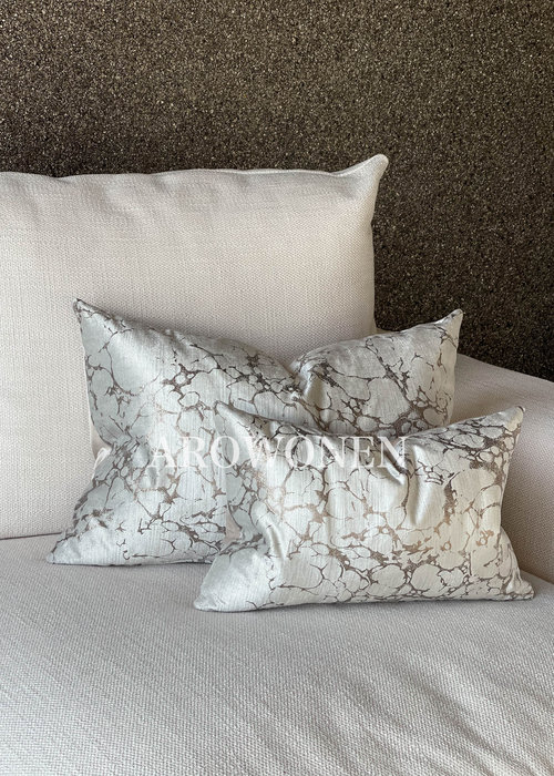 Decorative Cushion - Marble - Rose