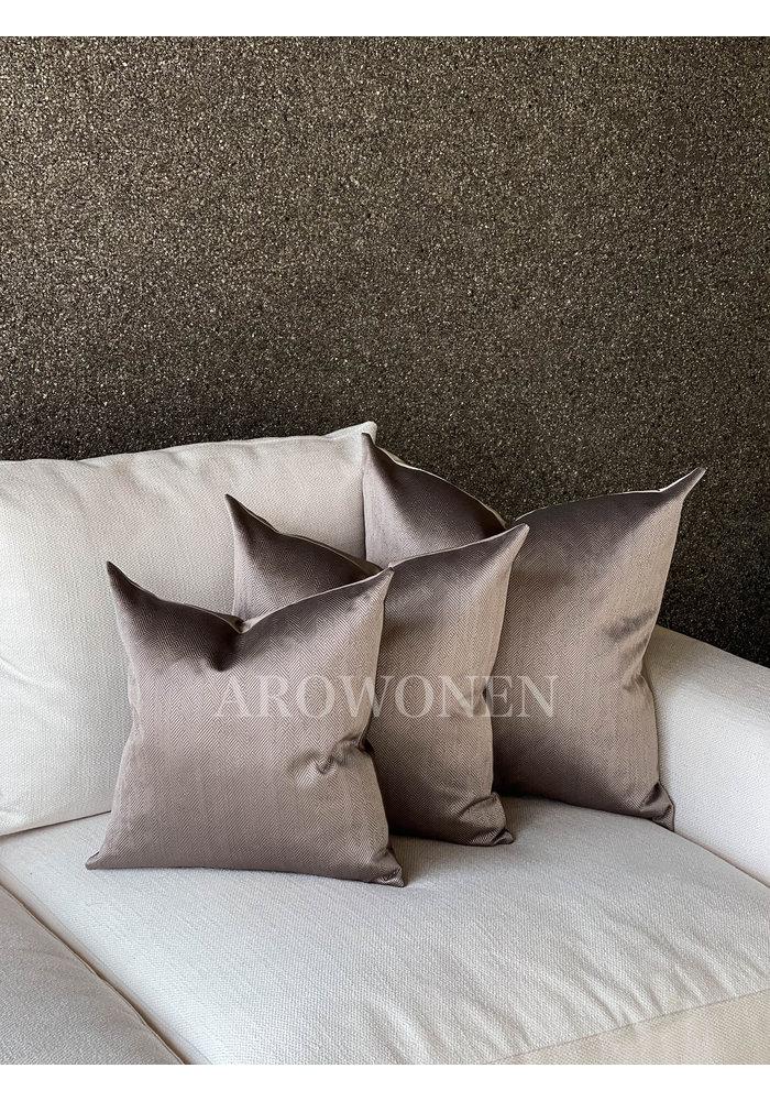Decorative Cushion - Ambrosia - Rosy brown