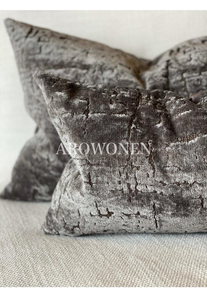 Decorative Cushion - Manhattan - Crushed Stone
