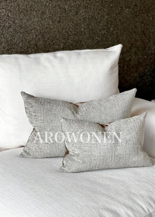 AROWONEN Decorative Cushion - Sandford - Almond