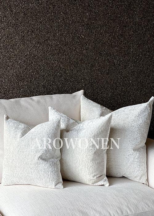 Decorative Cushion -  Zephyr - White Frost