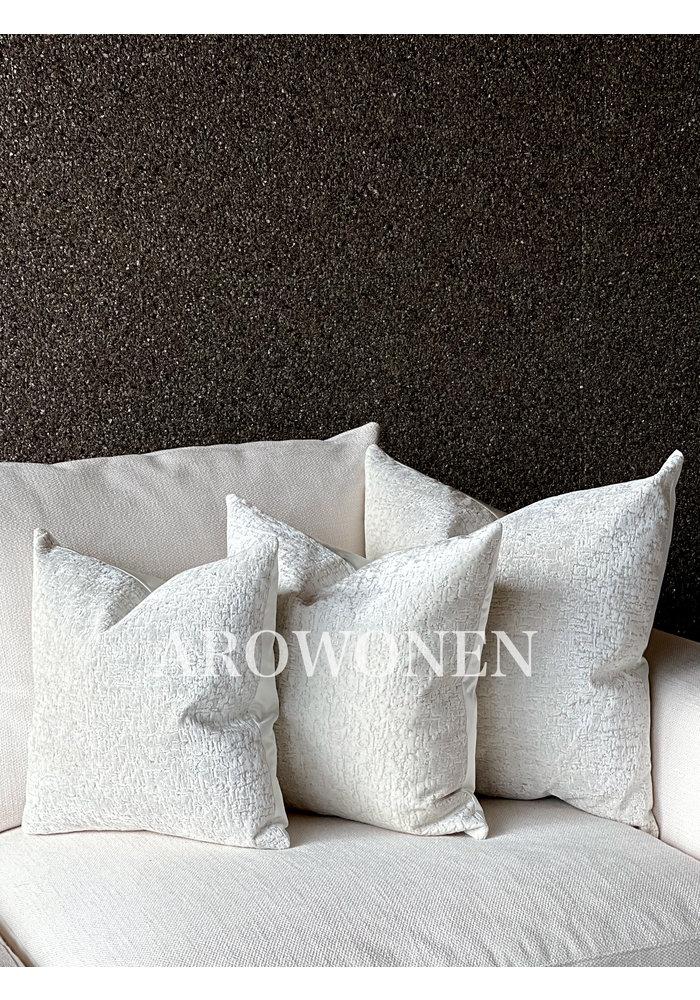 Coussin décoratif -  Elísabet - White Frost