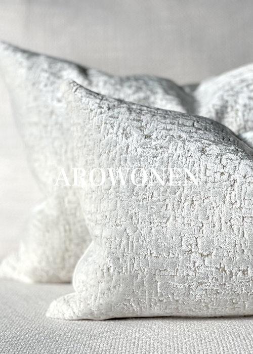 Sierkussen - Zephyr - White Frost