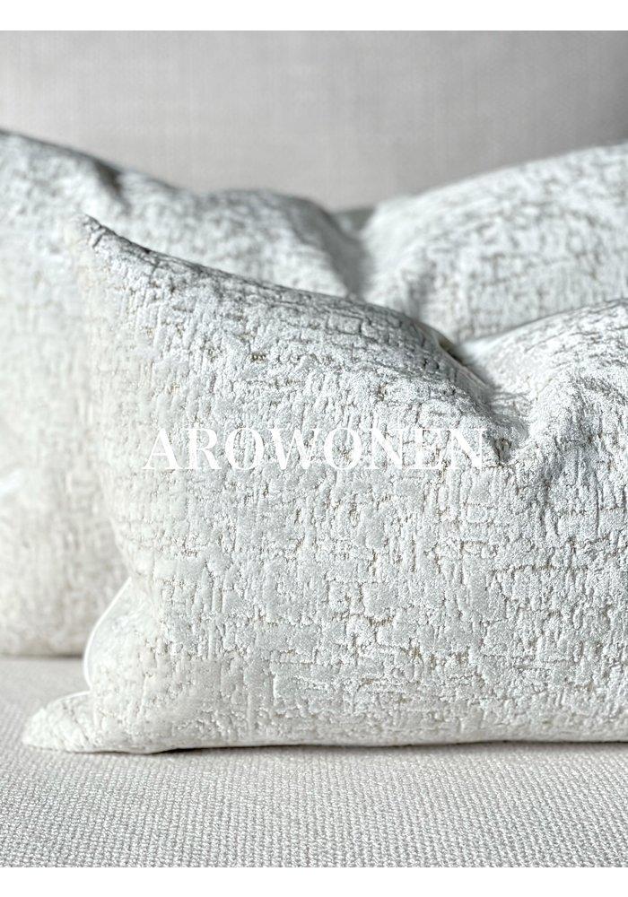Sierkussen - Elísabet - White Frost