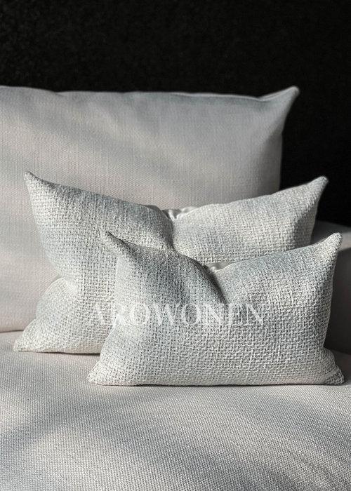 Decorative Cushion -  Ólafur - Ghost white