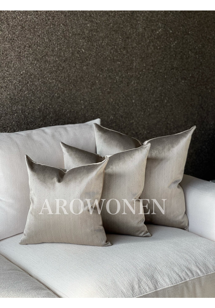 Decorative Cushion -  Ambrosia - Smokey taupe