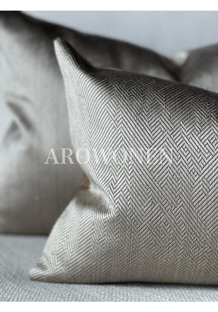Decorative Cushion -  Ambrosia - Smokey taupe