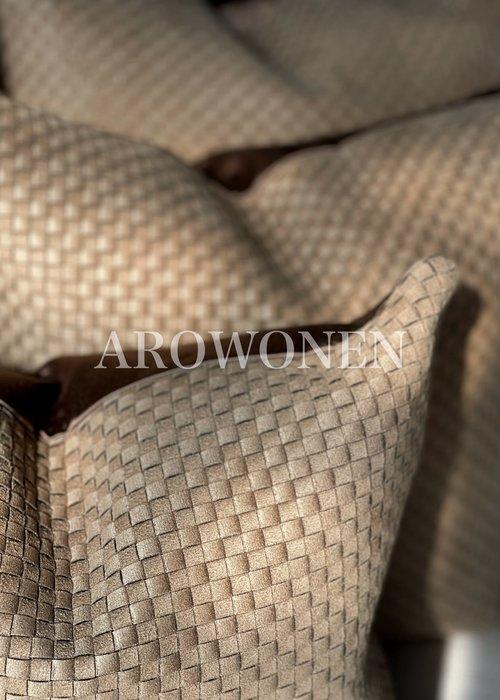 AROWONEN Decorative Cushion -  Veneta - Camel