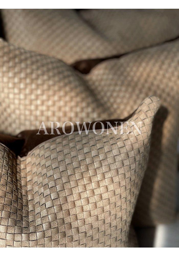 Decorative Cushion -  Veneta - Camel