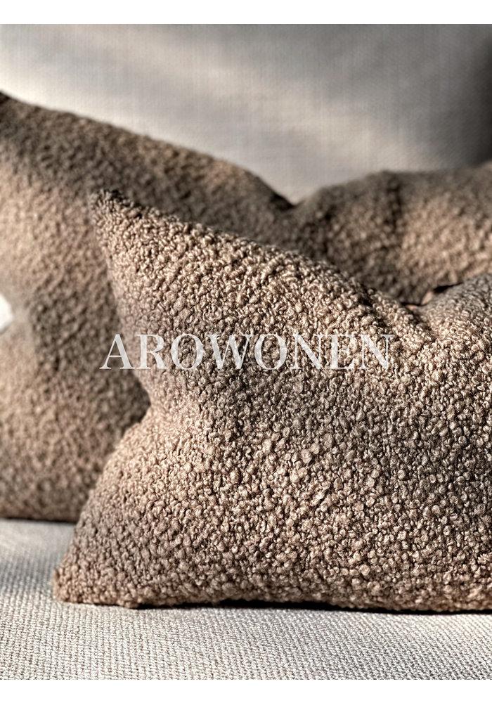 Decorative Cushion -  Woolly - Truffel