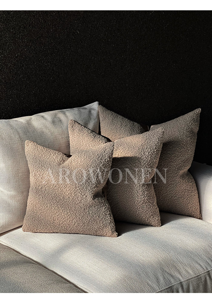 Decorative Cushion -  Woolly - Truffel