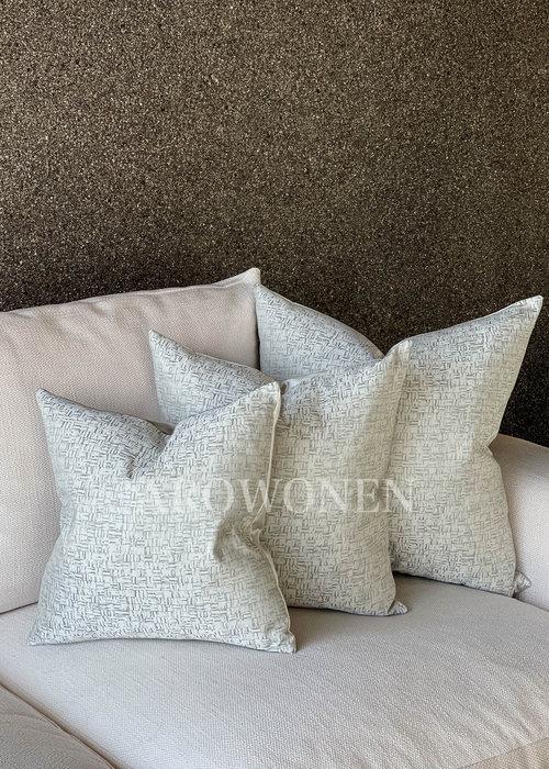 AROWONEN Decorative Cushion - Jules - Oyster shell