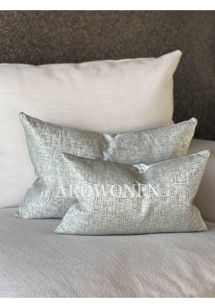 Decorative Cushion - Jules - Oyster Shell