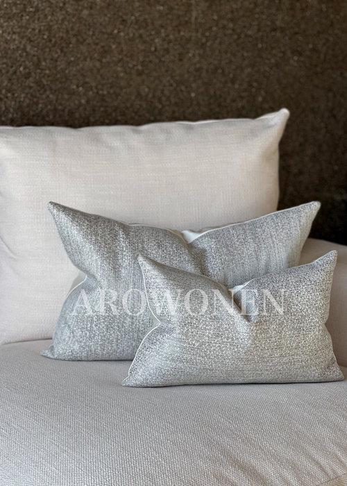 Decorative Cushion - Alaric - Silver