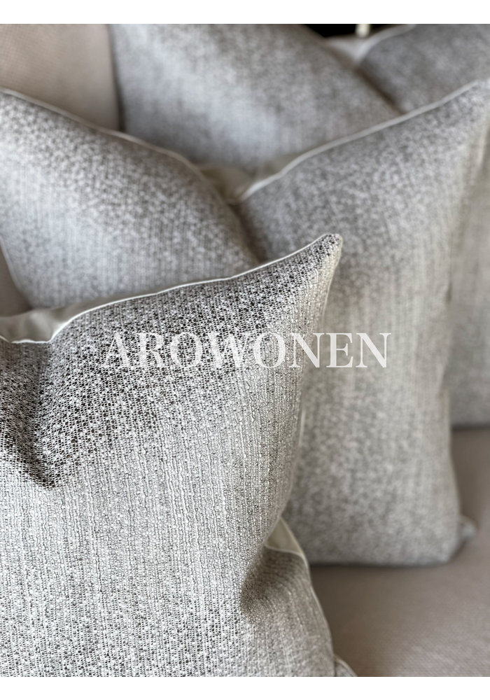 Coussin décoratif  - Alaric - Silver