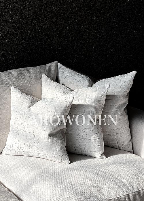 Decorative Cushion - Manhattan - Floral white