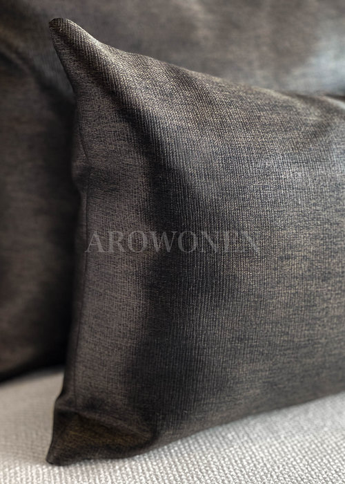 Decorative Cushion - Evelyna - Dark chocolate
