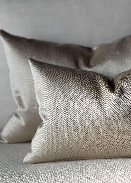 AROWONEN Decorative Cushion -  Ambrosia - Champagne