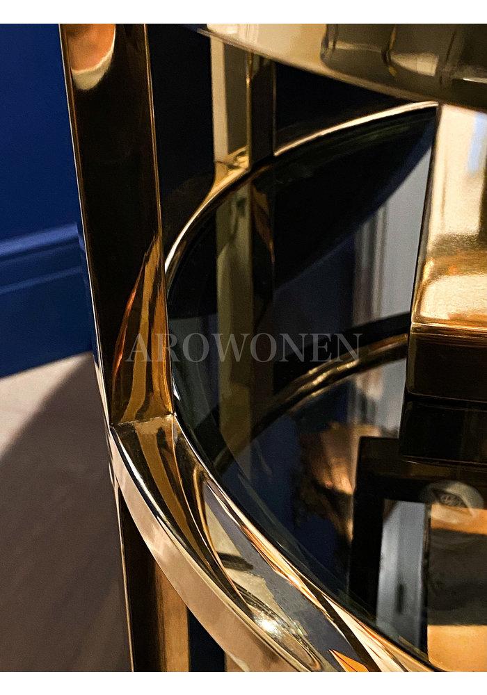 Trolley - Addison glossy gold