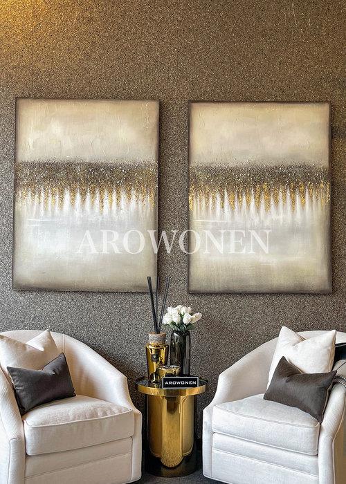 Art  Toile - Golden horizon 120x90cm