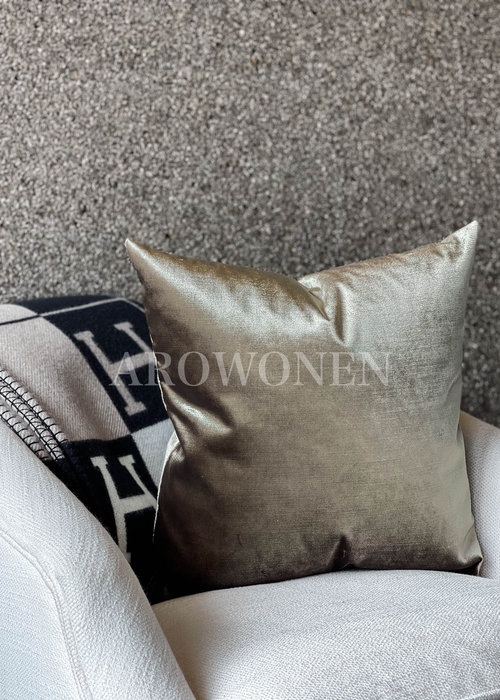 AROWONEN Decorative Cushion - Sage Silver Green
