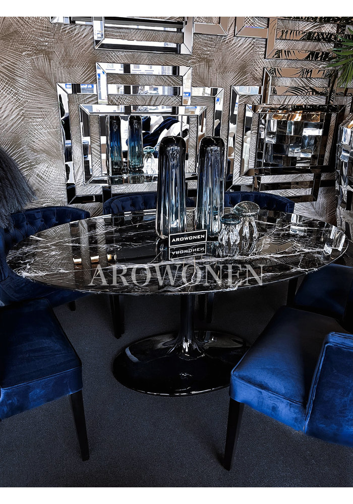 Dining table - Noir Marble