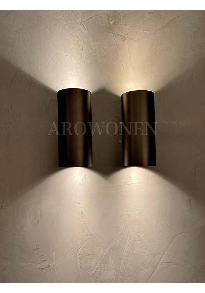 Wall Lamp - Burnished