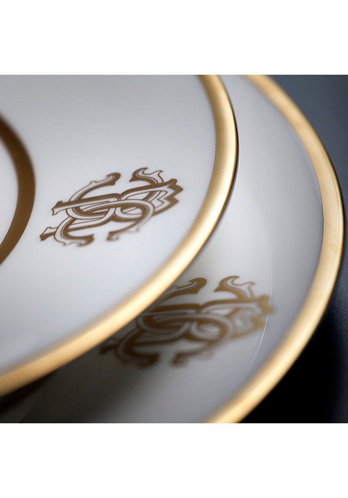 Roberto Cavalli - Silk Gold - Oval Dish -  23cm
