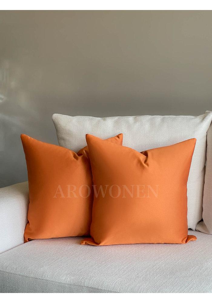 Decorative Cushion - Luciana - Burnt orange