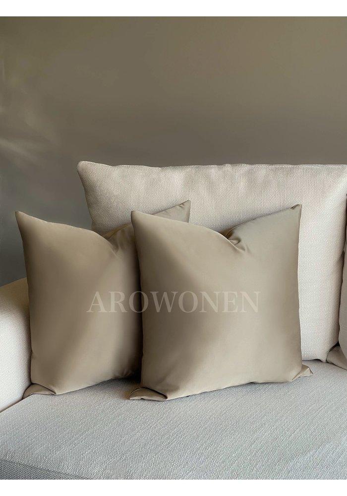 Decorative Cushion - Luciana - Toffee Taupe