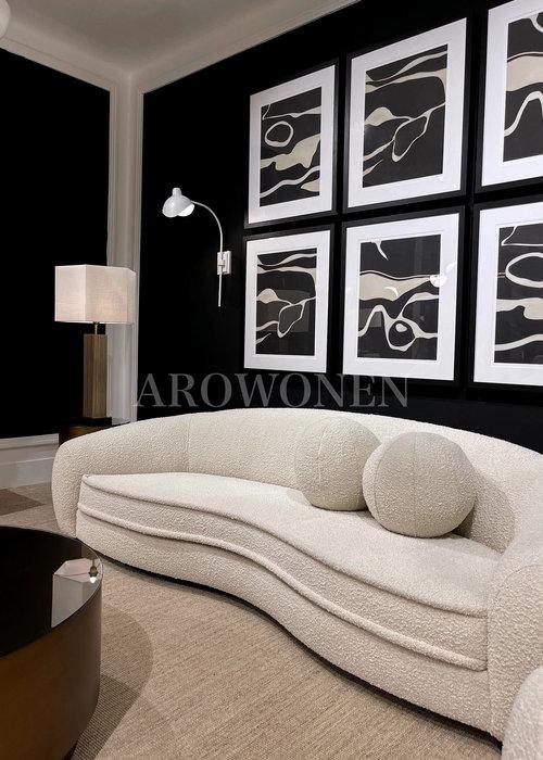 Decorative cushion - Cookie White - S