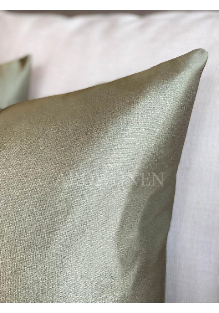Decorative Cushion - Luciana - Light Army