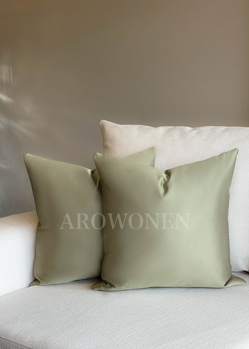Decorative Cushion - Luciana - Light army