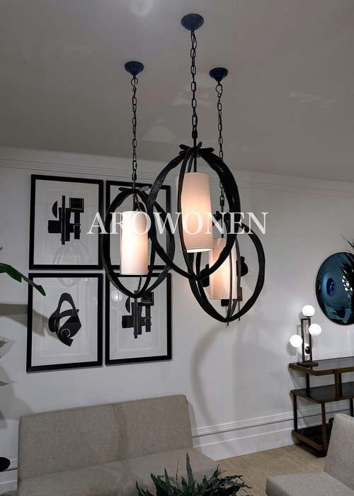 Chandelier - Selva black