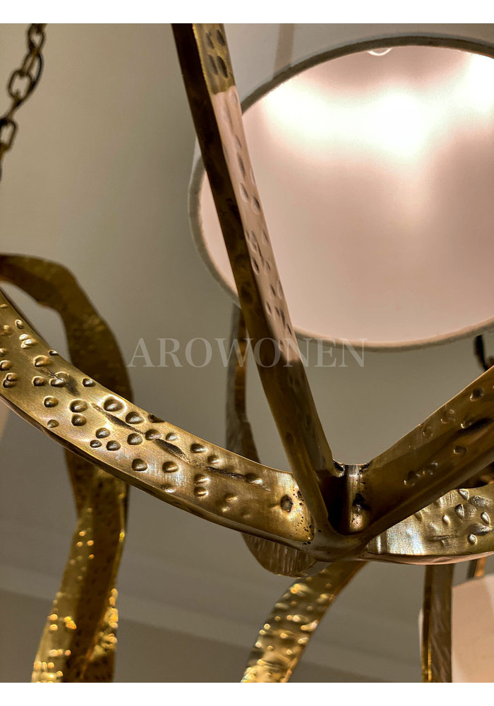 Chandelier - Selva brass