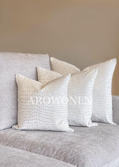 AROWONEN Decorative Cushion - Cordelia - Cream