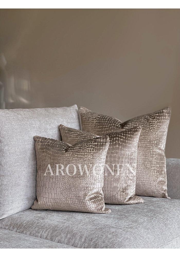 Decorative Cushion - Cordelia - Taupe