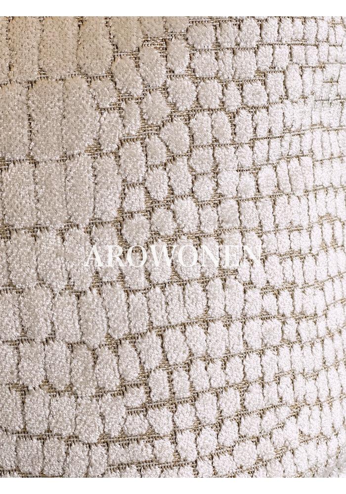 Coussin décoratif - Cordelia - Frosting Cream
