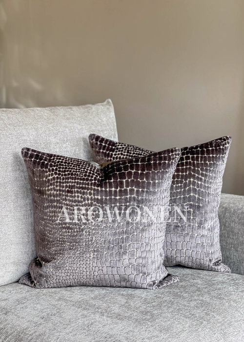 Decorative Cushion - Cordelia - Antraciet