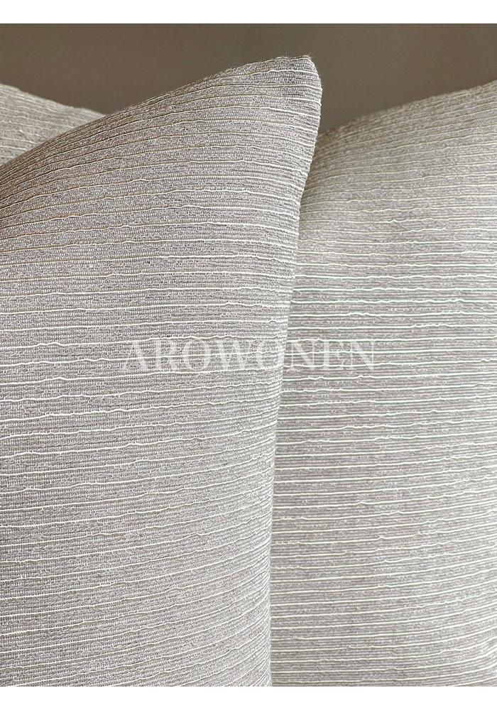 Decorative Cushion - Gianna - white gold