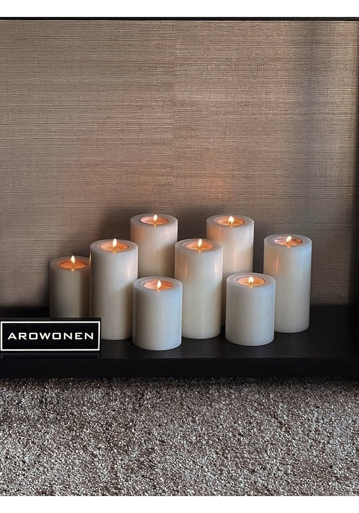 Artificial Candles Set of 8
