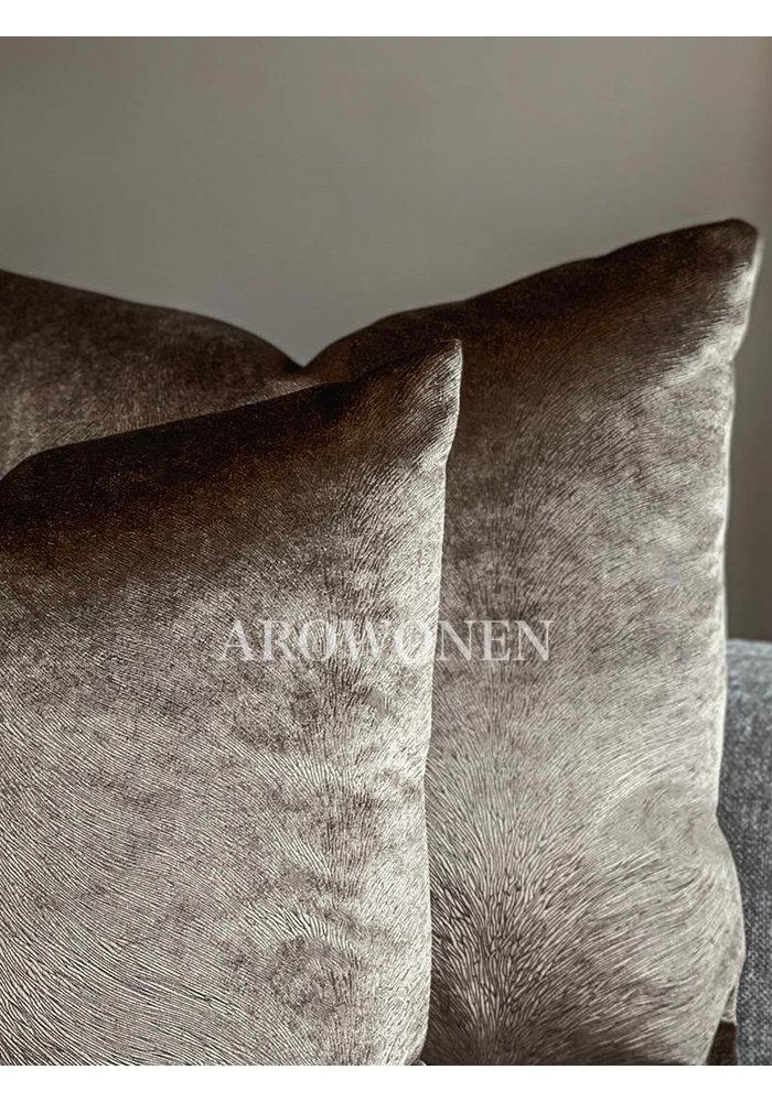 Coussin décoratif - Merrie - Brown
