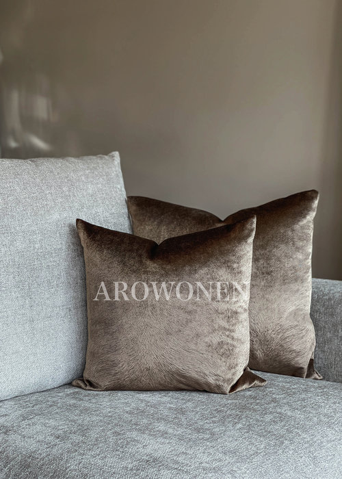 AROWONEN Decorative Cushion - Merrie - Brown