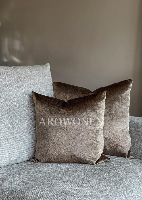 Decorative Cushion - Merrie - Brown
