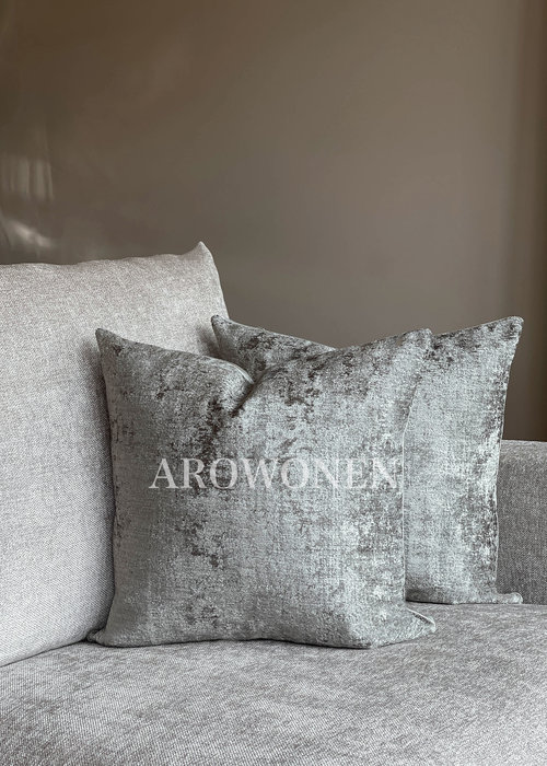 Decorative Cushion - Stones - Soft Grey