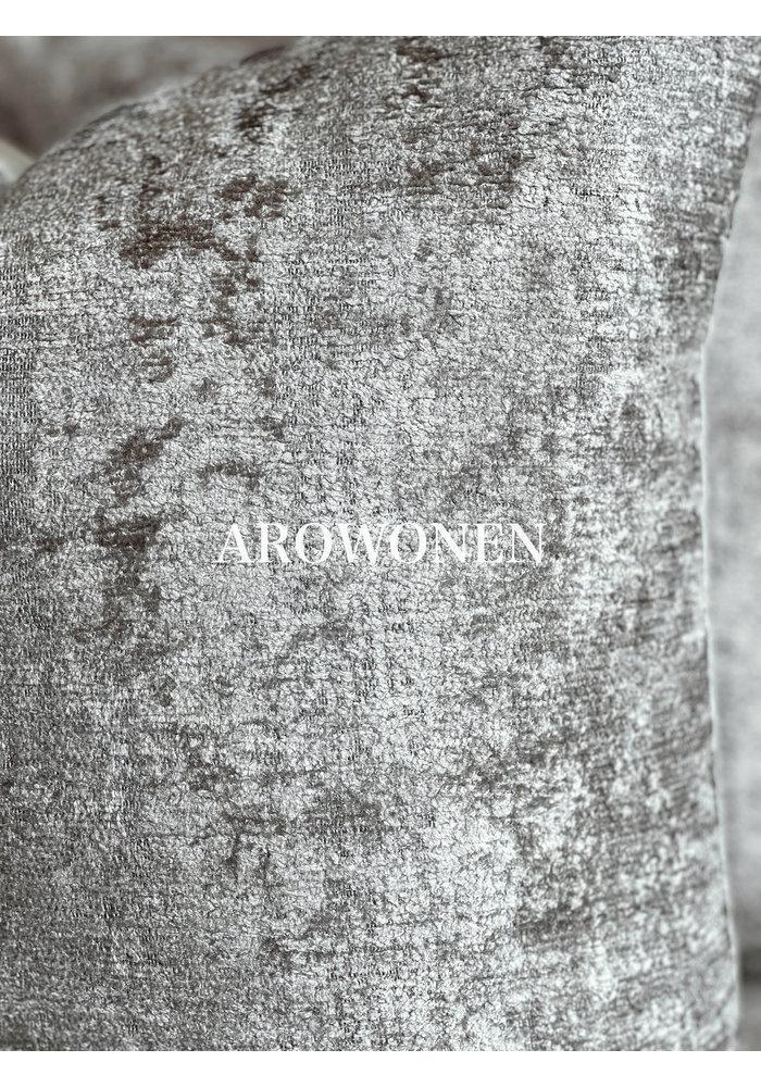 Sierkussen - Stones - Soft Grey