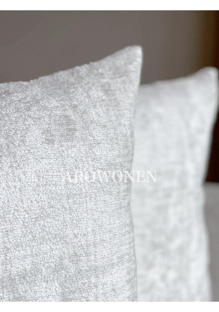 Decorative Cushion - Octavie  - North Pole White