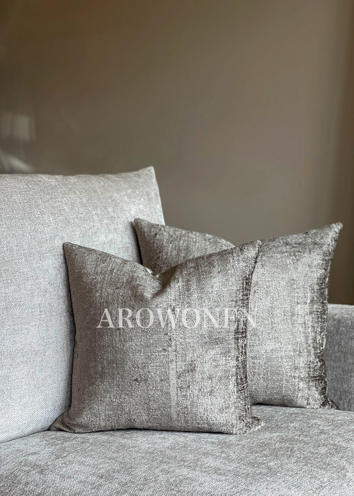 Decorative Cushion - Octavie - Dark Taupe