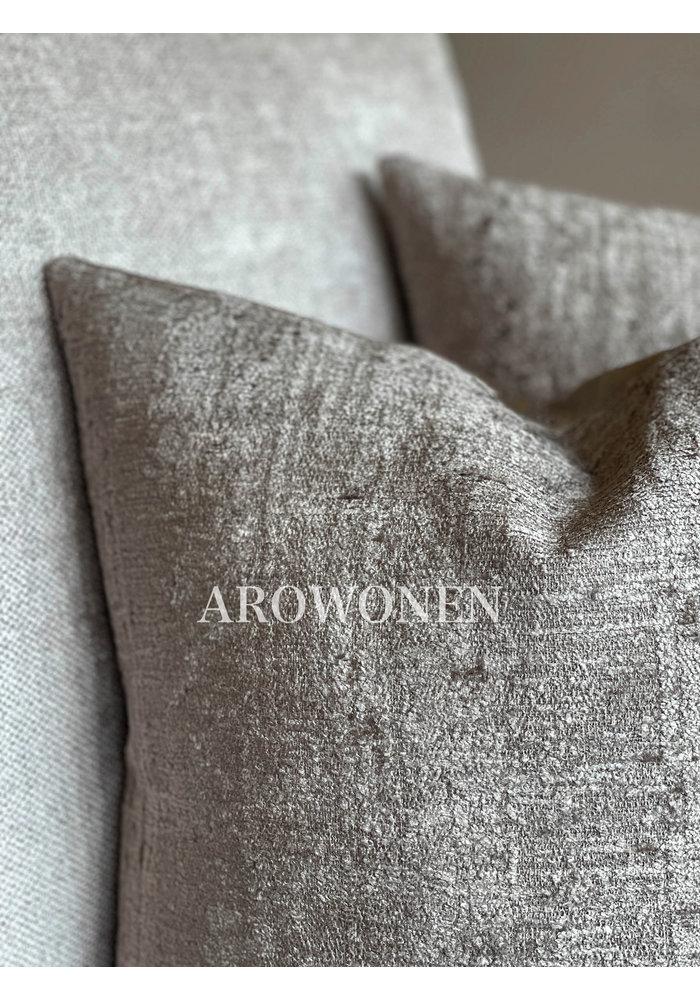Decorative Cushion - Stones - Taupe