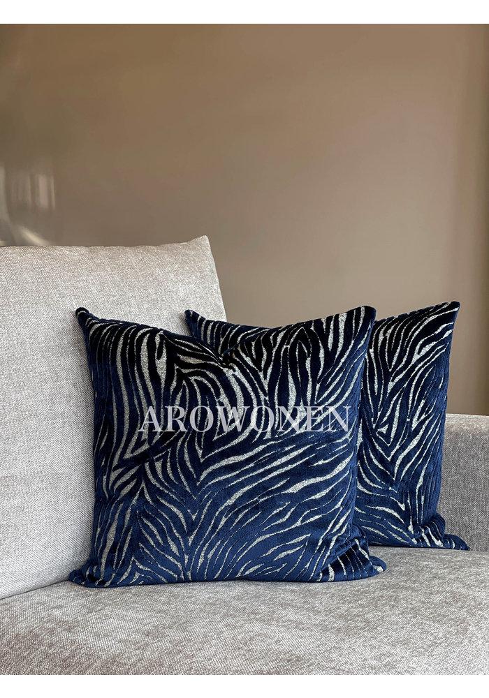 Decorative Cushion - Chintz - Blue